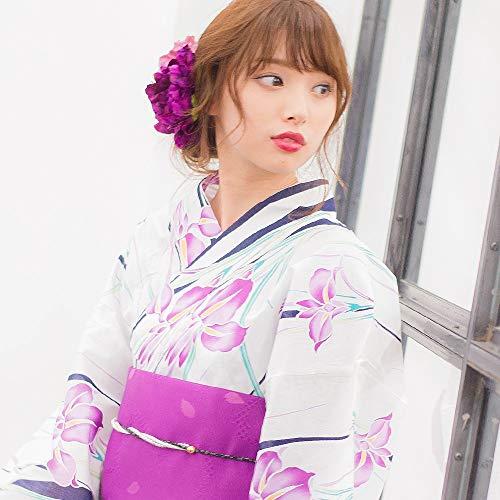 驚きの浴衣 レディース 白(令和元年 [2019年])
