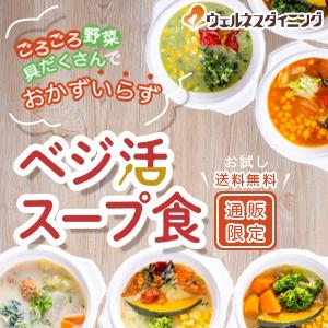歴史から学ぶ野菜不足解消の新提案 1食で1日に必要な野菜の半分を摂取「ベジ活スープ食」