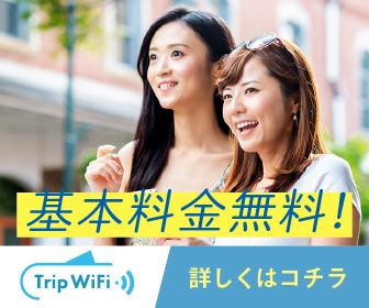 魂を揺さぶる【Trip Wifi】基本料金無料で国内外で使えるお手軽WiFi