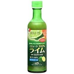 メキシコ産ライム果汁290ml ストレート100%果汁 香料・保存料不使用の使い道