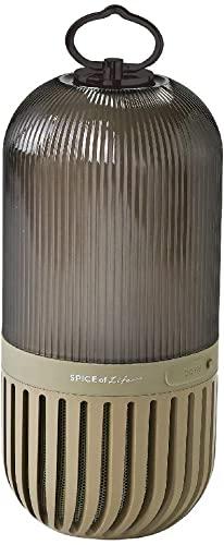 SPICE OF LIFE(スパイス) ゆらぎカプセルスピーカー カーキ Bluetooth 防塵 防水 LED 充電式 CS2020KHの反逆
