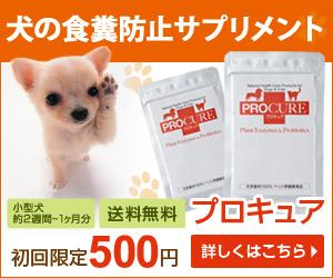 子ども心をくすぐる酵素とプロバイオティクスのペット(犬・猫)用サプリメント【プロキュア】
